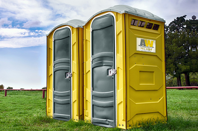 Portable toilets aw waste america s family owned waste for Porta johns for rent